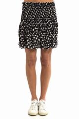 Jupe Bea ATHE VANESSA BRUNO, Jupe plissée courte avec un
