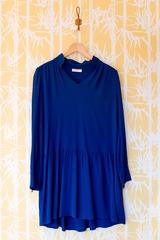 Robe Astor BA&SH, robe col à rabat décolletée, manches