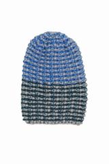 Bonnet S Bang, Color strip. Ce bonnet aux couleurs grise,