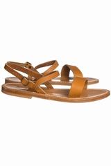 Sandale K.JACQUES Sandales en cuir plates avec fermeture à