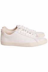 Baskets Veja Esplar Leather Extra White. Baskets basses en