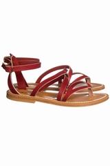 Sandales K.JACQUES, sandales à brides croisées avec