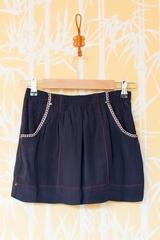 Jupe Fanny SOEUR, Jupe courte avec 2 poches coté, taille