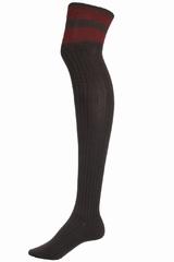 Les chaussettes Rayées B.Team by Bensimon sont des