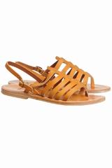 Les spartiates Homere K.Jacques sont des chaussures plates
