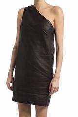 Robe Gat Rimon Joany en cuir. Cette robe Gat Rimon est