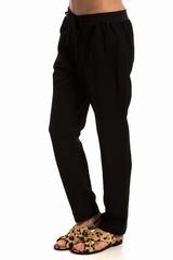 Pantalon Jogging RUE BLANCHE, Pantalon droit style jogging 2