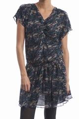 La robe imprimée Klea Anna Studio est une robe courte à col