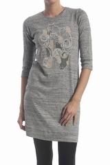 La robe imprimée chat See By Chloé est une robe courte et