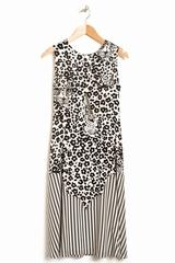 Robe Leopard Sans Manche See By Chloé. Robe sans manche à