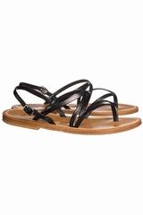 Sandales K.JACQUES Sandales en cuir à fines brides croisées