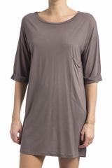 La robe American Vintage Marisville est une robe t-shirt