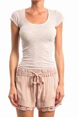 Tees Massachussetts AMERICAN VINTAGE, T-shirt manche courte
