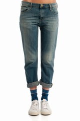 Jean Acquaverde Stretch Nils. Jean coupe Boyfriend Stretch