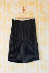 Jupe Pliss GAT RIMON, Jupe plissée, mi-longue avec coutures