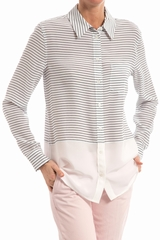chemise Rayure Reese EQUIPMENT, Chemise manche longue, coupe