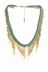 Le collier crochet franges Wear and Tear est un collier