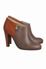 Les boots bicolore talons zip See by Chloé sont des boots