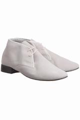 Les Derby daim Repetto sont des chaussures plates derbys