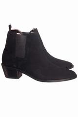 Boots Repetto Auguste. Boots entièrement en cuir véritable.
