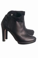 Boots Repetto Agnes. Boots talon en cuir fermeture zip sur