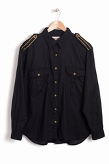 Chemise Ralph Lauren - Denim & Supply Military à manches