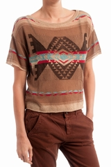 Pull azteque, Ralph Lauren - Denim & Supply. Pull ample fine