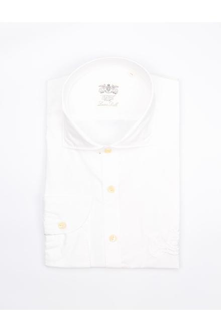 Chemise Casual Coupe droite Aspect vintage résultant d'un