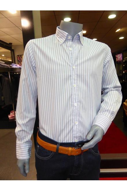Chemise Casual Coupe droite Col souple boutonné Pans