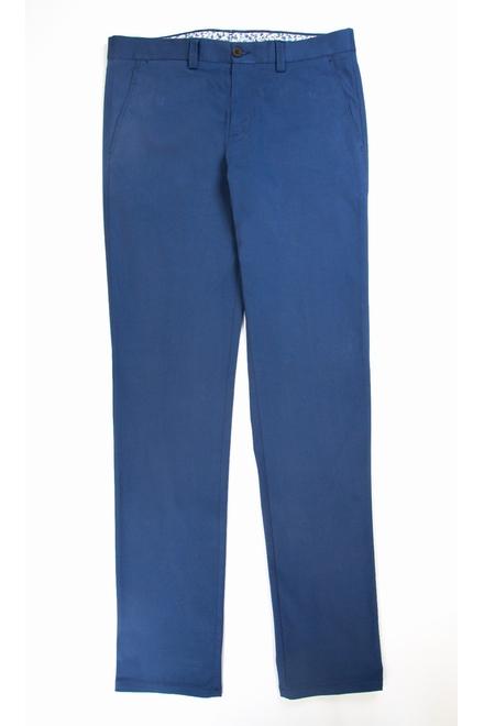 Pantalon Casual Coupe ajustée Tissu : Toile satin Poches