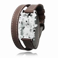 bracelet cuir double tour pour ref 1516 vendu sans pompes