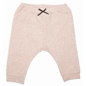 Pantalon molleton avec noeud Taille élastiquée, molleton