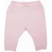Pantalon molleton avec nœud Taille élastiquée, resserré aux