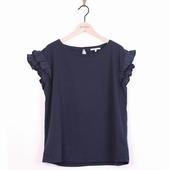 Matière: Jersey Tee shirt à volants Disponible en coloris