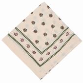 Matière: Voile de coton Foulard Disponible en coloris beige,