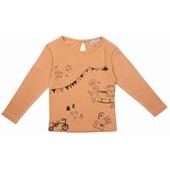 Tee Shirt jersey de coton tout doux  Imprimé exclusif sur le