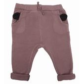 Pantalon oreilles Pantalon molleton gratté à l'intèrieur,