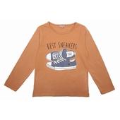 Tee Shirt tout doux  Print exclusif sur le devant, encolure