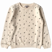 Sweat molleton, Print exclusif en all over, encolure ronde,