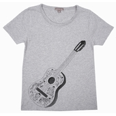 Tee Shirt jersey tout doux Print exclusif, encolure ronde,