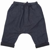 Matière: Coton Pantalon forme sarouel Taille élastiquée avec