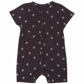 Material: Cotton Playsuit Opening on the front and between