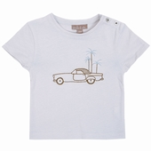 Matière: Jersey Tee shirt Broderie exclusive voiture