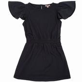 Matière: Jersey Robe longues Volant en voile de coton sur