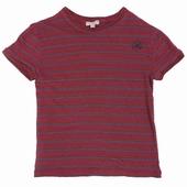 Matière: Lin Tee shirt rayé Disponible en coloris beige et