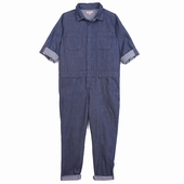 Material: Chambray Overall Available in chambray and light