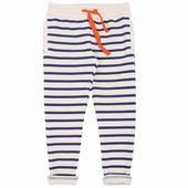 Matière: Molleton Pantalon rayé Disponible en coloris marine