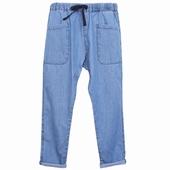 Matière: Coton Pantalon Ceinture en tresse de coton coloris