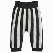 Material : wool Striped tights Thunderstorm/white strips