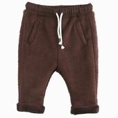 Material : plush Extra soft pants Available in chestnut and